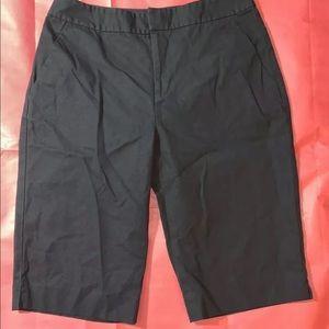 LAUREN RALPH LAUREN  Size 4 Black Bermuda Shorts